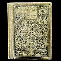 Antique Book, Travels with a Donkey, Copyright 1911 Robert Louis Stevenson