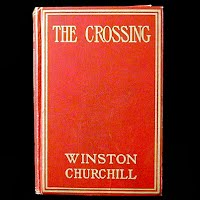 Antique Book, The Crossing, Winston Churchill 1908