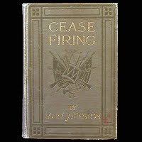 Antique Book 1912, Cease Firing, Houghton Mifflin Co