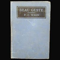 Antique Book: Beau Geste, Precival Wren, 1926