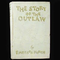 Antique Book: The Story of the Outlaw,Emerson Hough, 1905