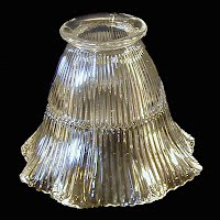 Antique Clear Glass Shade