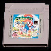 Vintage Nintendo Game Boy Super Mario Land Game Cartridge