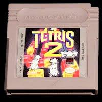 Vintage Nintendo Game Boy Tetris Game Cartridge