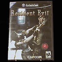 Vintage Resident Evil Game and Case for Game Cube