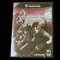 Vintage Resident Evil 4 Game and Case for Game Cube