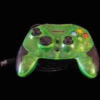 Vintage Game Stop green Controller