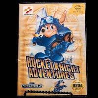 Vintage Rocket Knight Adventures Sega Genesis Game