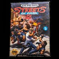 Vintage Vintage Streets of Rage 2 Sega Genesis Game