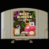 Vintage Nintendo 64 N64 Bust A Move Game Cartridge