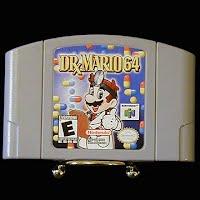 Vintage Original N64 Nintendo Dr Mario 64 Game Cartridge