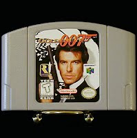 Vintage Original N64 Nintendo 64 Golden Eye 007 Game Cartridge