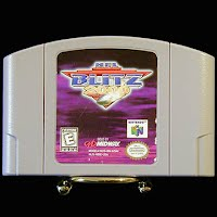 Vintage Nintendo 64 N64 NFL Blitz 2000 Game Cartridge