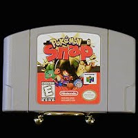 Vintage Nintendo 64 N64 Pokemon Snap Game Cartridge
