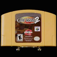 Vintage Nintendo 64 N64 Pro Skater 2 Tony Hawks Game Cartridge