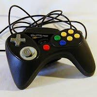 Vintage Original Nintendo 64 Super Pad 64 Controller