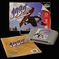 Vintage Original N64 Nintendo 1080 Snowboarding Game Cartridge