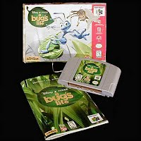 Vintage Original N64 Nintendo A Bug's Life Game Cartridge