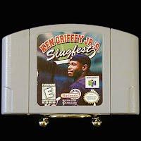 Vintage Nintendo 64 N64 Slugfest Ken Griffey Jr Game Cartridge