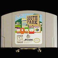 Vintage Nintendo 64 N64 South Park Game Cartridge