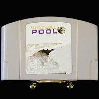 Vintage Nintendo 64 N64 Virtual Pool Game Cartridge