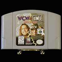 Vintage Nintendo 64 N64 WCW vs nWo World Tour Game Cartridge