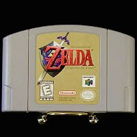Vintage Nintendo 64 N64 The Legend of Zelda Game Cartridge