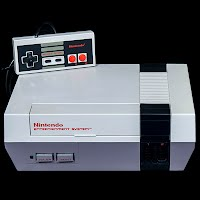Vintage NES Nintendo Console System with controller