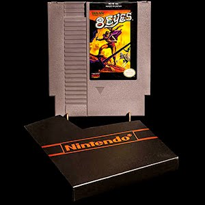 Vintage NES Nintendo Entertainment System 8 Eyes Cartridge Game