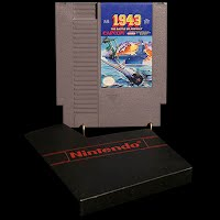 Vintage NES Nintendo Entertainment System 1943 The Battle of Midway Game Cartridge
