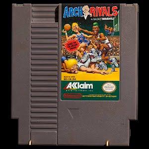 Vintage NES Nintendo Game, Arch Rivals