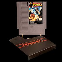 Vintage NES Nintendo Game, Back to the Future