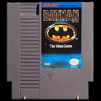 Vintage NES Nintendo Game, Batman