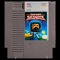 Vintage NES Nintendo Game, Captain Skyhawk