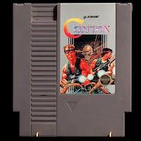 Vintage NES Nintendo Game, Contra