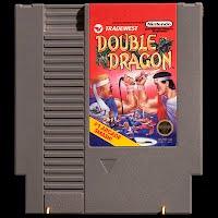 Vintage NES Nintendo Game, Double Dragon