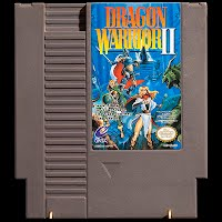 Vintage NES Nintendo Dragon Warrior II Game