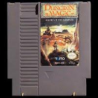Vintage NES Nintendo Dungeon Magic Game
