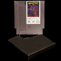 Vintage NES Nintendo Entertainment System Gauntlet II Game Cartridge
