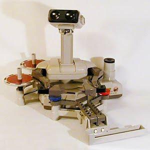 Vintage Original NES Nintendo Robot Operating Buddy with Gyros