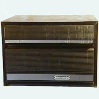 Vintage Original NES 2 Drawer Storage Cabinet