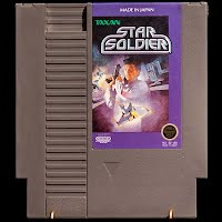 Vintage NES Nintendo Entertainment System Star Soldier Game Cartridge