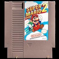 Vintage NES Nintendo Super Mario 2 Game
