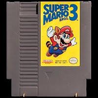 Vintage NES Nintendo Super Mario 3 Game