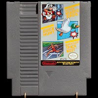 Vintage NES Nintendo Super Mario Brothers, Duck Hunt, World Class Track Meet Game