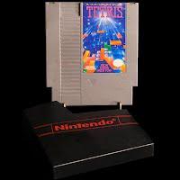 Vintage NES Nintendo Tetris Game