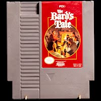 Vintage NES Nintendo The Bard's Tale Game