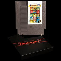 Vintage NES Nintendo Track and Field II Game