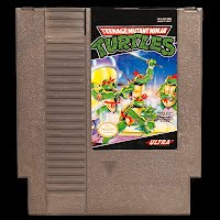 Vintage NES Nintendo Teenage Mutant Ninja Turtles Game