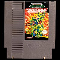 Vintage NES NintendoTeenage Mutant Ninja Turtles The Arcade Game